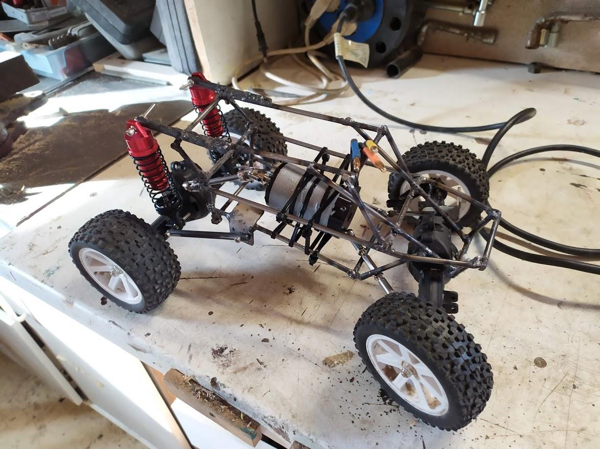 2eme partie – Soudage du chassis acier