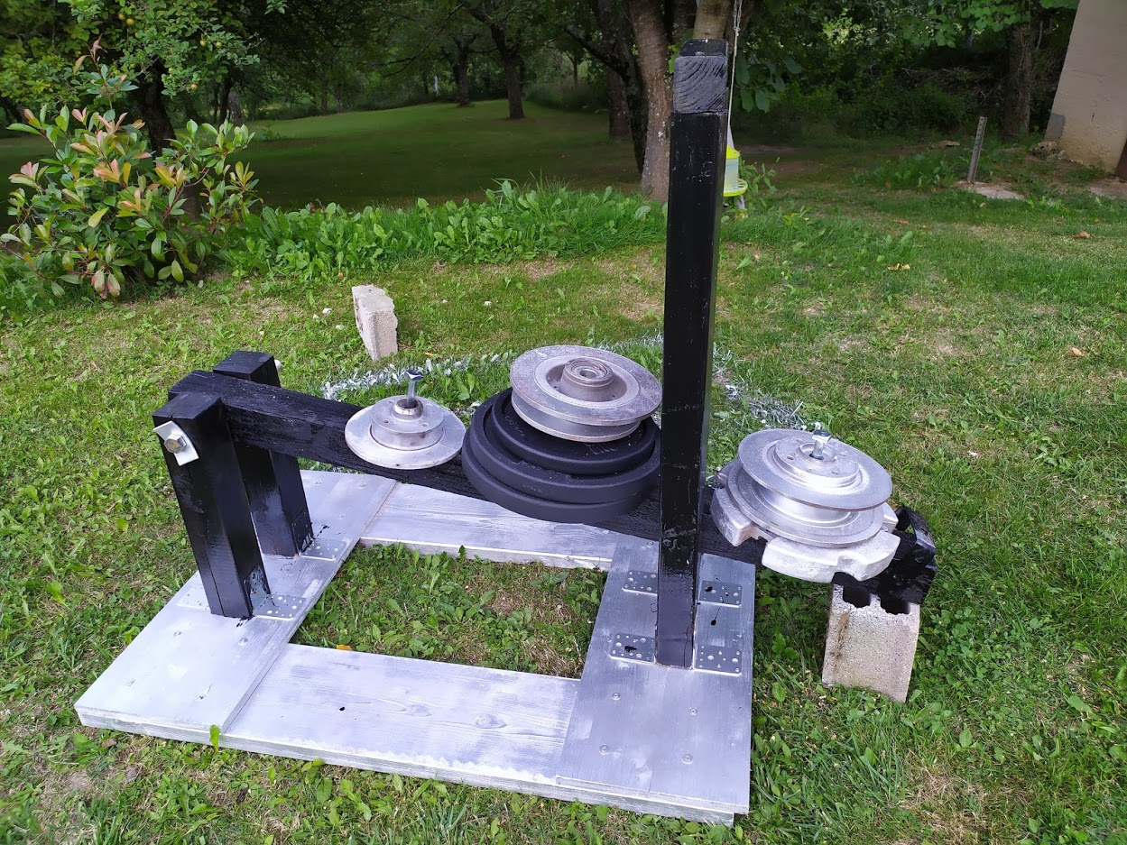 Fabrication d'un belt squat