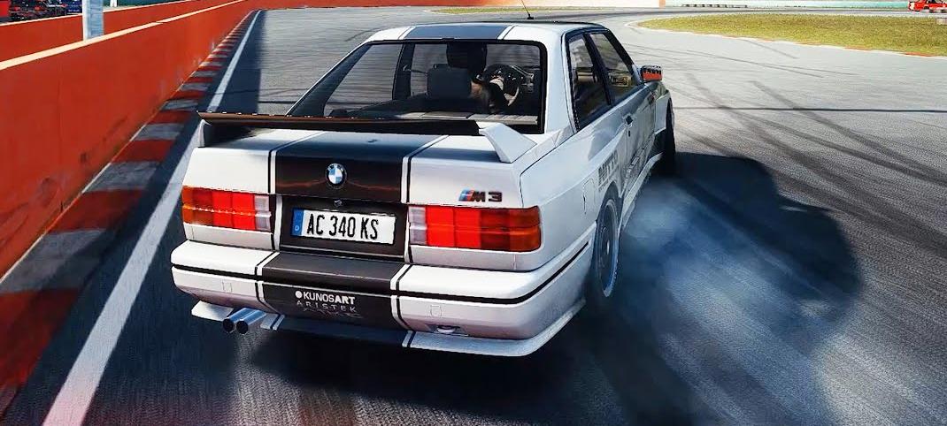 Drift sur Assetto Corsa