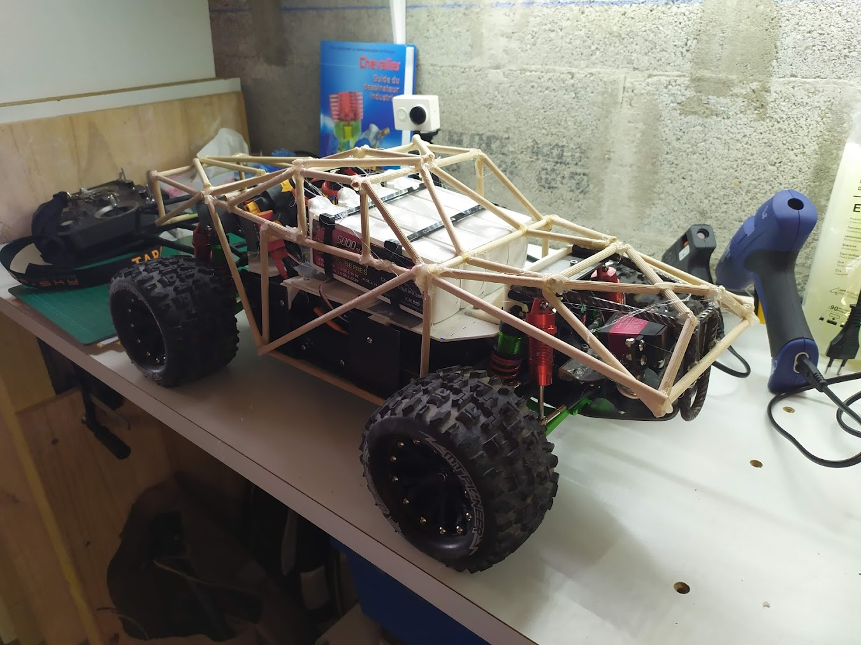 18eme partie – Prototypage de la cage partie 3