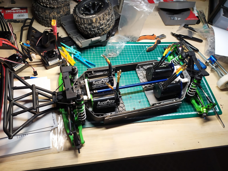4eme partie – Fabrication du chassis